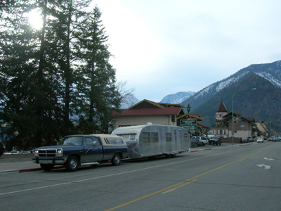 Nettie leaving Leavenworth WA